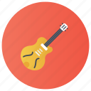 electric guitar, fingerboard, guitar, music tool, stringed instrument icon