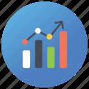 analytics, data analysis, financial analysis, graphical analysis, statistics icon