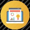 data analytics, ecommerce, financial analysis, online analytics, online statistics icon