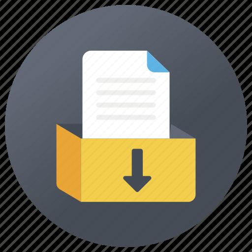 cabinet drawer, files drawer, filing cabinet, office drawer, storage drawer icon