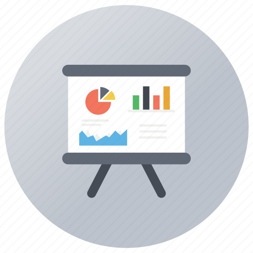 business chart, data analysis, financial graph, graphical representation, growth chart icon