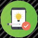 creative app, creative technology, creativity, verified app, verified device icon