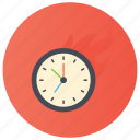 clock, tick tock, time, time machine, time marker, timekeeping device icon