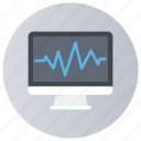 cardiology, ecg diagnostic, ecg machine, ecg monitoring, electrocardiogram icon