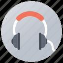 earbuds, earphone, earspeakers, headphone, music icon
