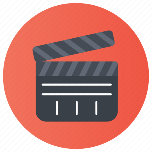 cinematography, clap stick, clapperboard, film production, slate board, sync slate icon