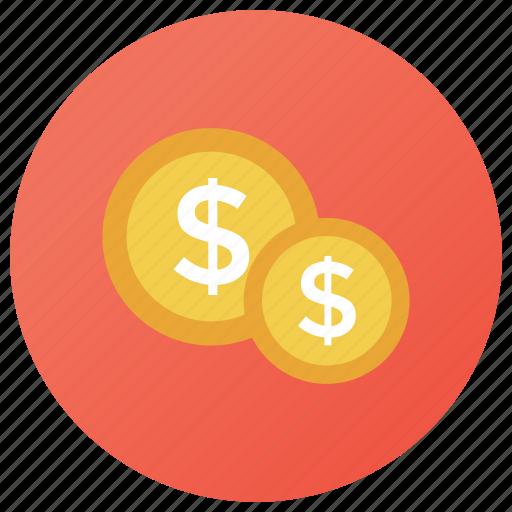 cash, currency, dollar, money, small stroke, treasure icon