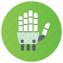 android, artificial intelligence, bionic man, robot, robotic hand icon