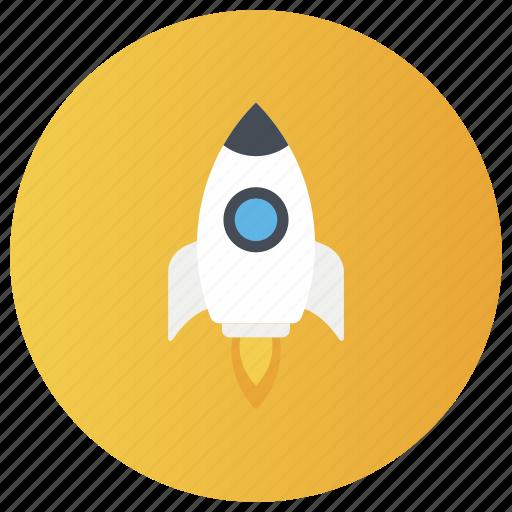 blastoff, introduction, product launch, publish, rocket launch, rocket launching, start up icon