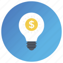 budget plan, business idea, financial idea, investment, start up icon