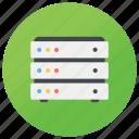 data center, data storage, database server, dataserver, db icon