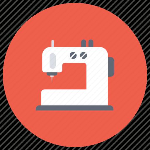 electric sewing machine, needlecraft, sewing machine, stitching, tailoring icon