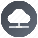 cloud computing, cloud data center, cloud data server, cloud hosting, cloud server icon