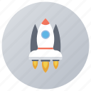 blastoff, introduction, launching, product launch, publish, rocket launch, start up icon