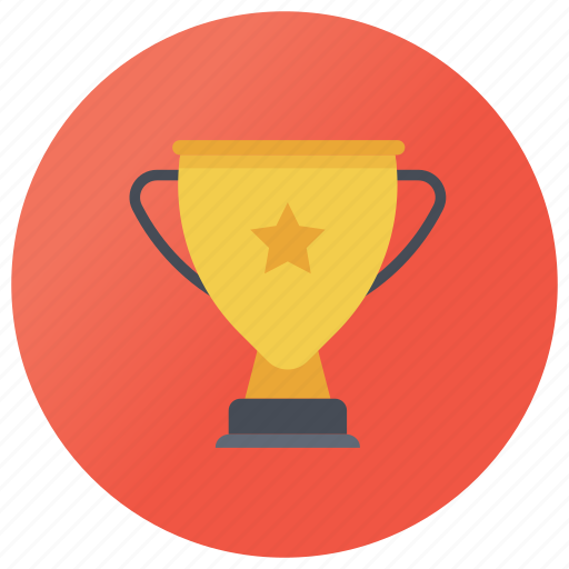 achievement, golden cup, prize, reward, trophy, wining icon