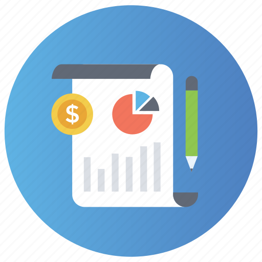 business analysis, business graph, data analysis, graphic representation, statistics icon