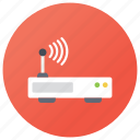 internet connection, internet network, modem, wifi antenna, wifi router, wireless network icon