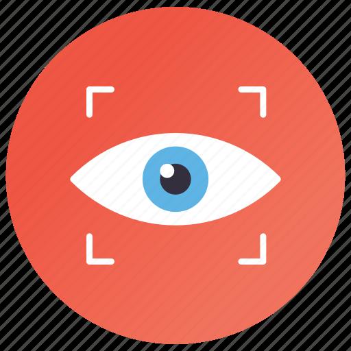 cyber eye, cyber eye monitoring, cyber security concept, cybernetics, mechanical eye icon