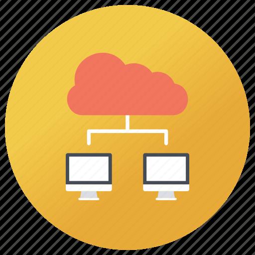 data exchanging, data sharing, data transfer, digital transformation, information sharing icon