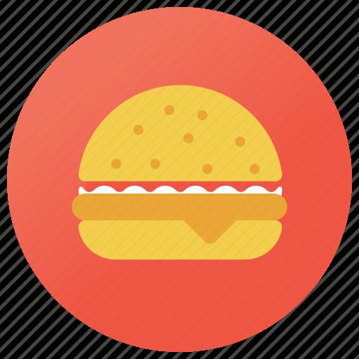 burger, fast food, hamburger, junk meal, veggie burger icon