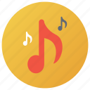 chord key, itunes, melody, music symbol, musical note icon