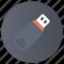 data storage, flash, flash drive, memory stick, storage, usb icon
