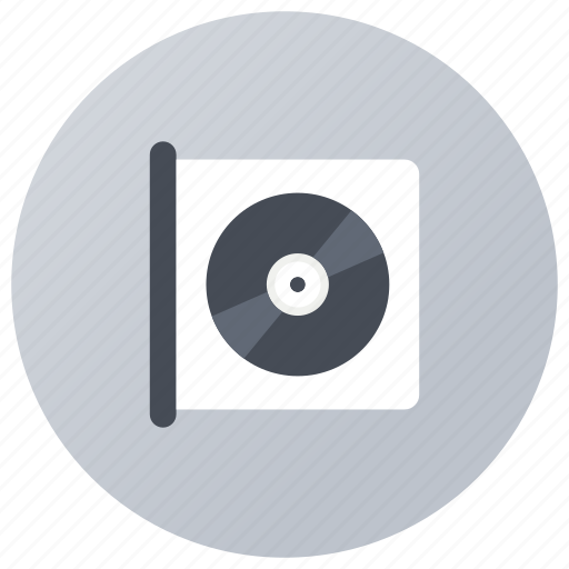 audio disc, cd case, compact disk, music cd, optical disc icon
