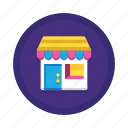 branch, brick and mortar, outlet, retail, shop, store, storefront icon