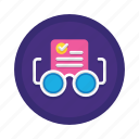 approval, check, document, grammar, readability, review, spelling icon