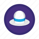 hat, marketing, optimization, search, seo, white, white hat icon