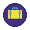 briefcase, business, features, portfolio, services, suitcase, support icon