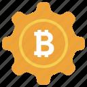 bitcoin maintenance, bitcoin management, bitcoin options, bitcoin setting, blockchain setting, cryptocurrency setting icon