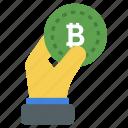 bitcoin, bitcoin symbol, blockchain, cryptocurrency, digital currency icon