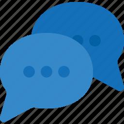 bubbles, chat, comment, communication, conversation, message icon
