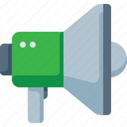 info, marketing, megaphone, presentation, speech, voice icon