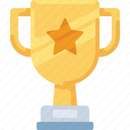 cup, prize, star, trophy, win, winner icon