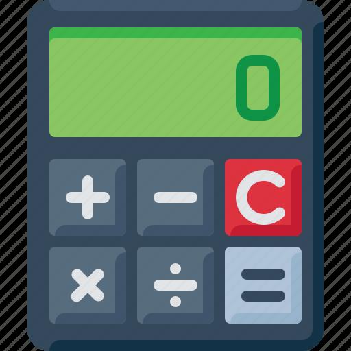 account, calculator, count, math, sum icon