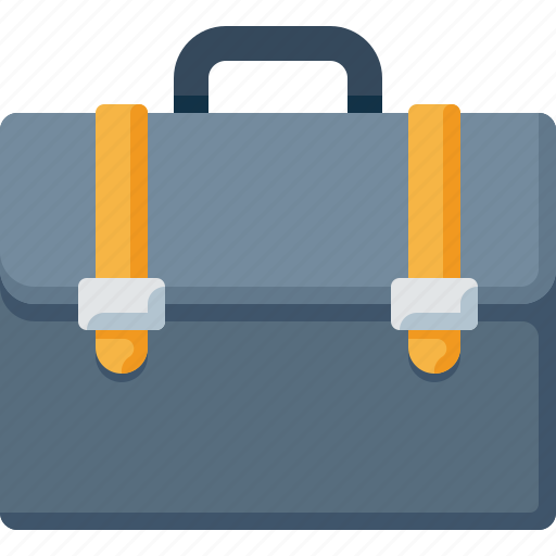 briefcase, business, businessman, case, documents, office icon