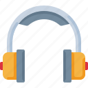 audio, device, headphones, listen, music, sound icon