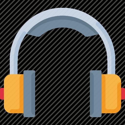 audio, device, headphones, listen, music, sound icon