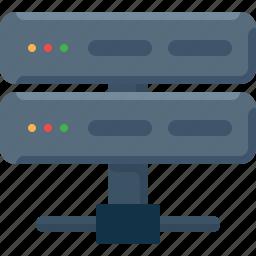 data, database, processor, server icon