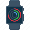 apple, apple watch, device, smartwatch, watch, wearable icon
