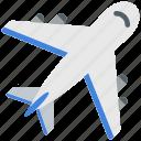 aircraft, airplane, flight, plane, traveling icon