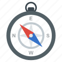 compass, gps, magnetic compass, navigation, rose compass, travel locator icon