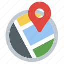 direction, gps, location, map navigation, navigation, pin pointer icon
