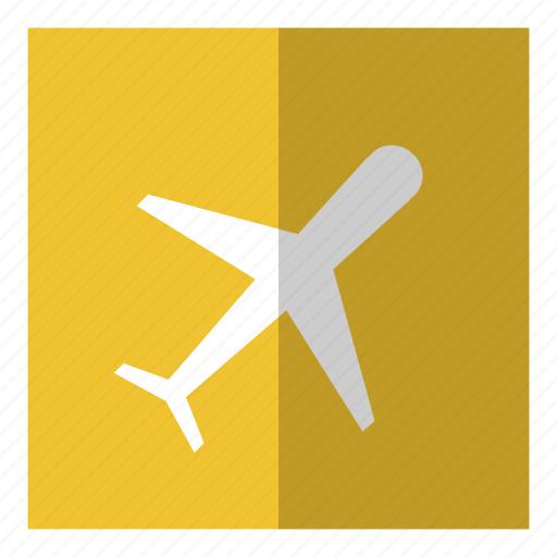 airport, flight, plane, transport icon