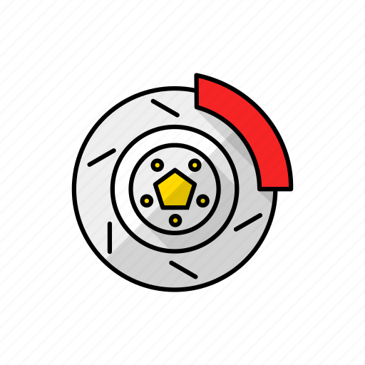 carbreak, discontinuity, disjunction, gap, hole, speedbreaker, wheelbreak icon