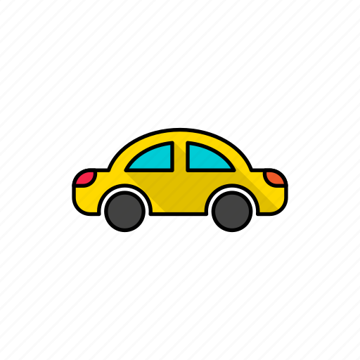 automobile, cab, car, motor, taxi, van, vehicle icon