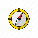 command, compass, control, direction, guidance, navigation, sensor icon