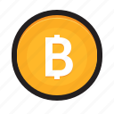 bitcoin, cryptocurrency, currency, digital money, mining, wallet icon